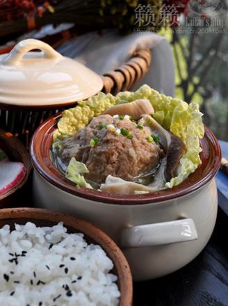 肉丸猪肚汤的做法