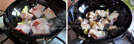 老豆腐炖黑鱼的做法图解