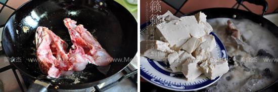 老豆腐炖黑鱼的家常做法