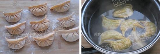 胡萝卜白菜猪肉水饺怎么煮