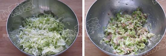 胡萝卜白菜猪肉水饺的家常做法