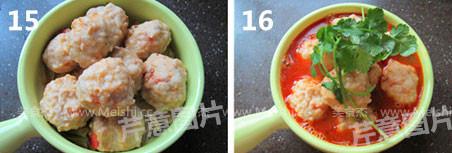 香辣水煮虾丸怎么煮