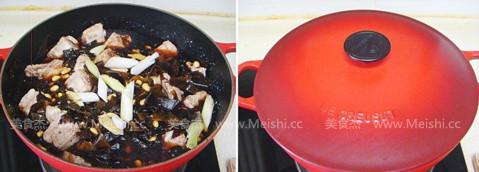 排骨海带酱黄豆怎么吃