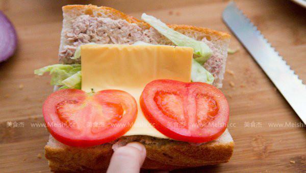 快艇金枪鱼三明治怎么做