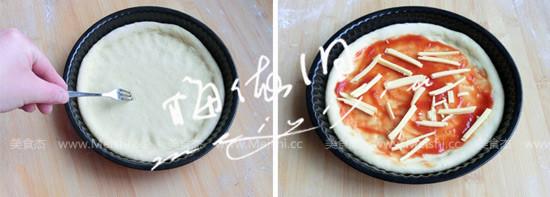 田园风光披萨的简单做法