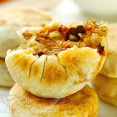 肉末粉丝香菇饼
