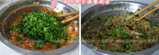 香菜胡萝卜饺子怎么吃