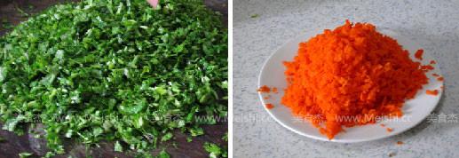 香菜胡萝卜饺子的家常做法
