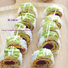 彩虹反转寿司