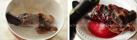 红酒火焰腊猪舌的做法图解