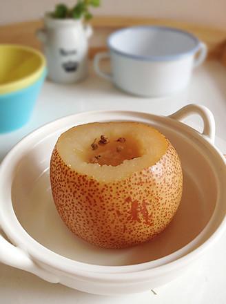 花椒蒸梨的做法