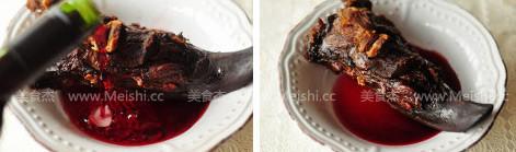 红酒火焰腊猪舌的家常做法