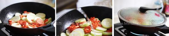 胡萝卜炒毛瓜的做法图解