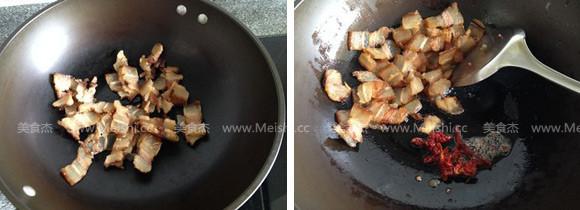 萝卜干炒腊肉的做法图解