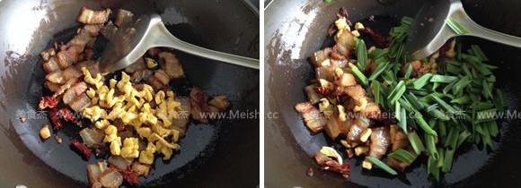 萝卜干炒腊肉的家常做法