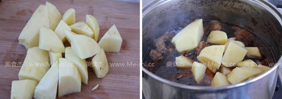 土豆炖牛肉怎么吃