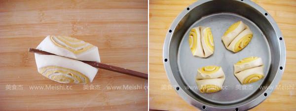 南瓜双色花卷的简单做法
