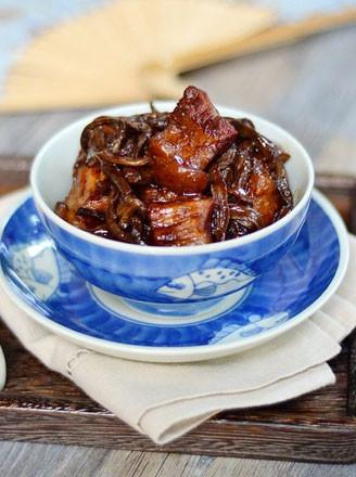 干豆角香焖五花肉的做法