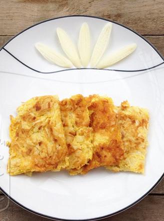 蒲菜涨蛋的做法