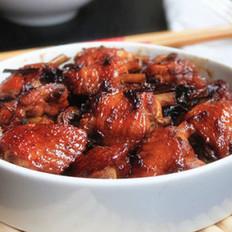 梅干菜烧鸡翅