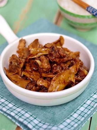 酱香笋干焖排骨的做法