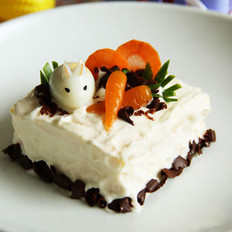 胡萝卜蛋糕小方