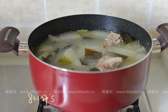 冬瓜海带排骨汤的简单做法