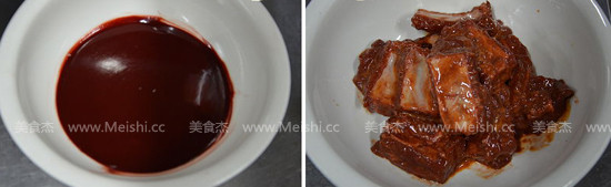 荷香糯米蒸排骨的做法图解
