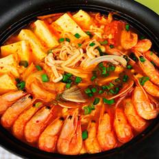 韓式泡菜海鮮鍋