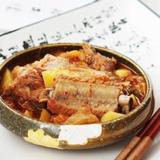 韩式泡菜排骨