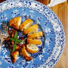 香烤糯米魷魚筒
