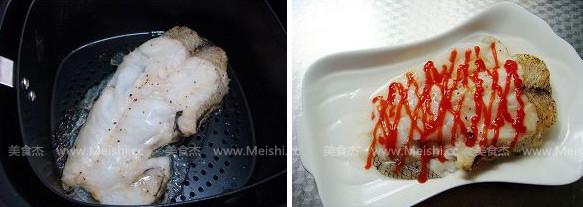 香烤鳕鱼块的家常做法