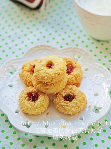 杏仁果酱夹心饼干的做法