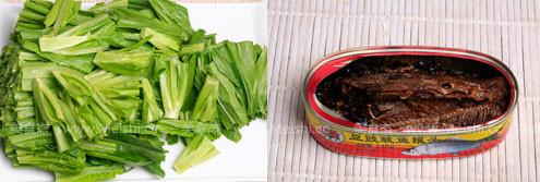 豆豉鲮鱼油麦菜的做法大全