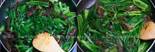 豆豉鲮鱼油麦菜怎么吃