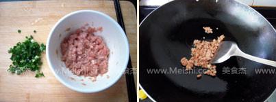 肉末豆腐蛋羹的做法图解