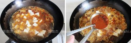 泡菜海鲜豆腐锅怎么做