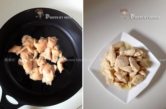 豉椒滑鸡片的简单做法