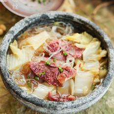 白菜牛肉粉丝
