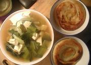 吊炉饼豆腐汤