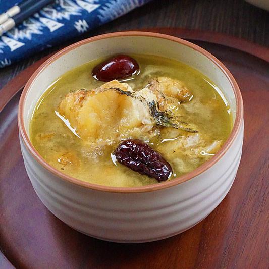 红枣生鱼汤