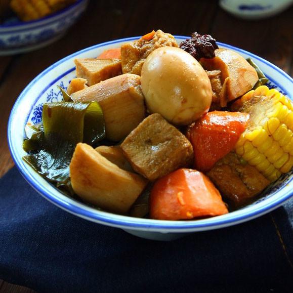 肉汤卤杂蔬
