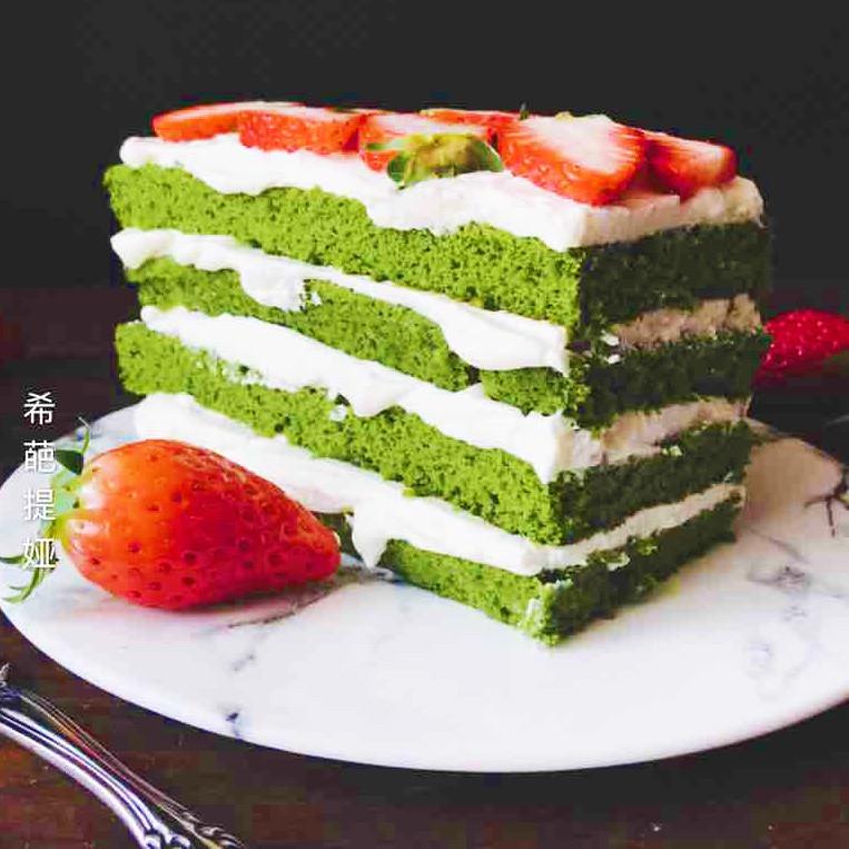 田园春色蛋糕