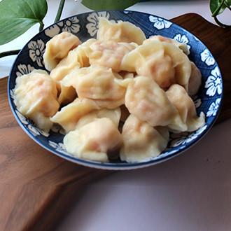 西红柿鸡蛋水饺