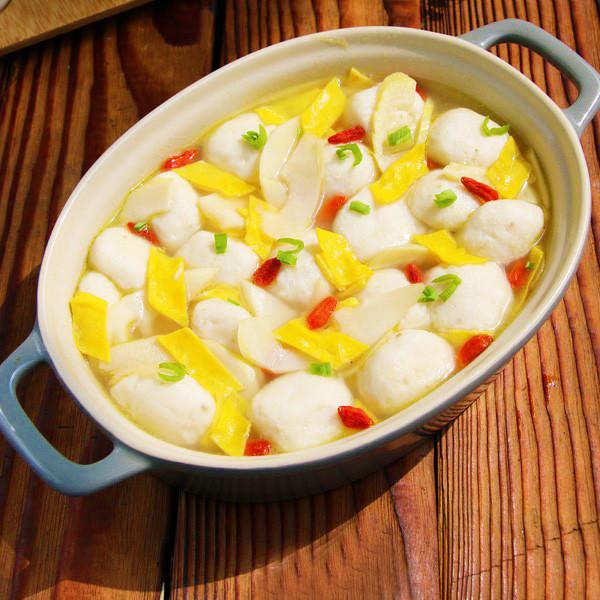 鱼丸笋片汤