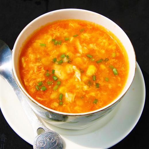 粟米番茄蛋羹