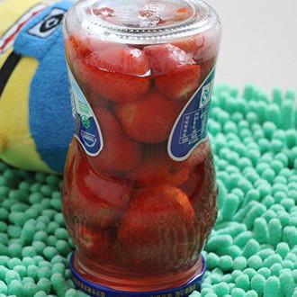 自制草莓罐头