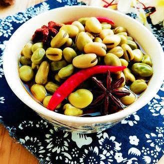 五香卤蚕豆