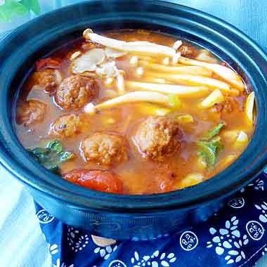 开胃酸汤砂锅