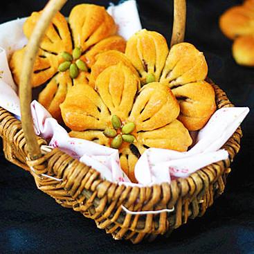 天然色桃花包